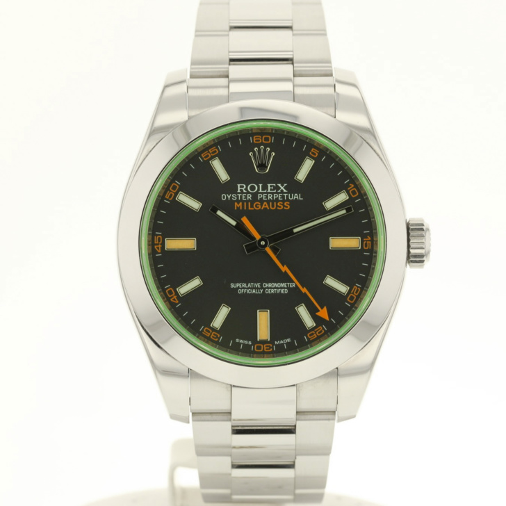 Rolex Milgauss 116400GV occasion