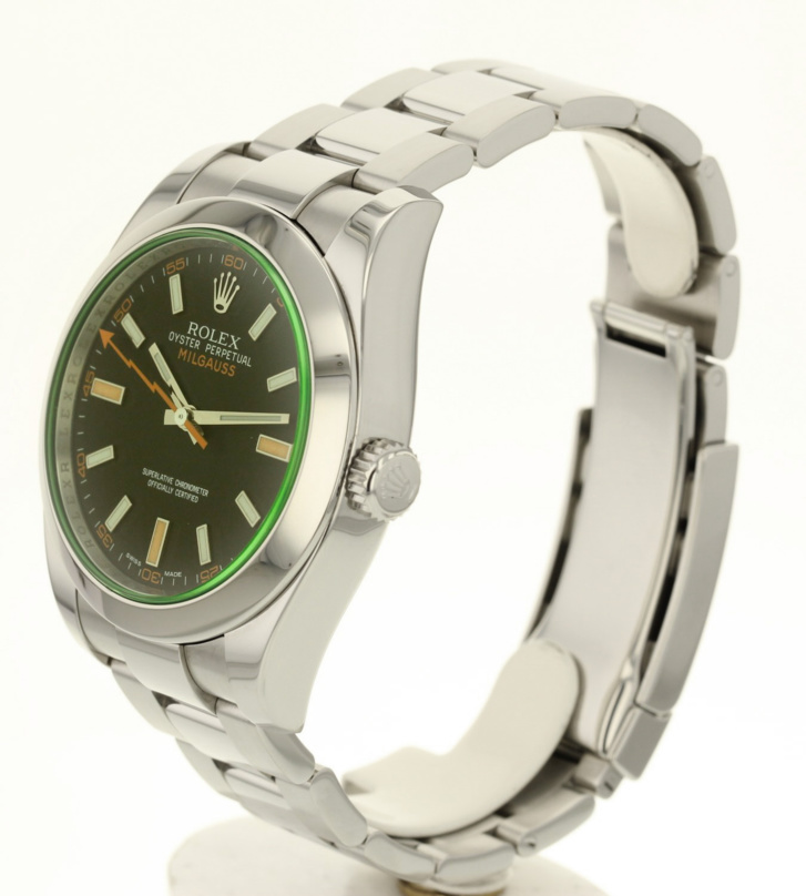 Rolex Milgauss 116400GV occasion full set