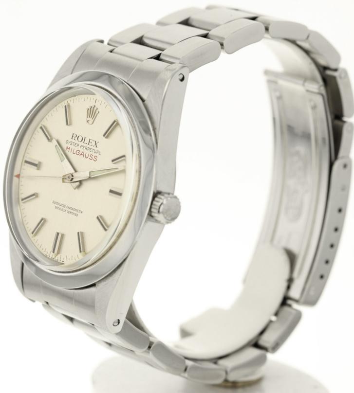 Rolex Milgauss 1019 d'occasion cadran gris