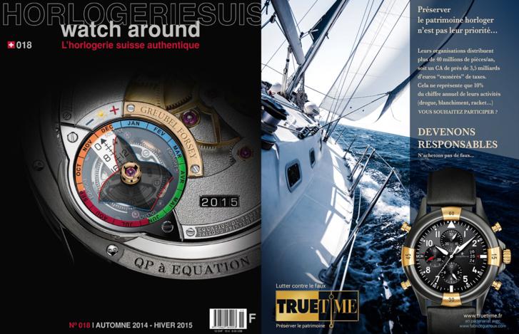 Magazine horloger Watcharound - Membre d'honneur de l'association Truetime