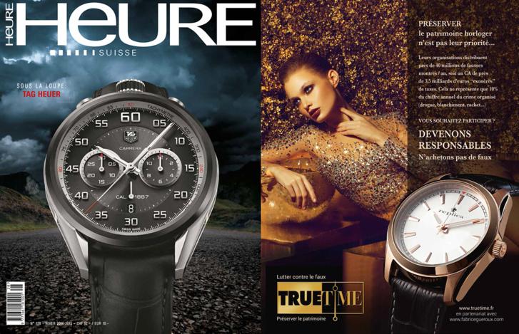 Magazine horloger Heure Suisse