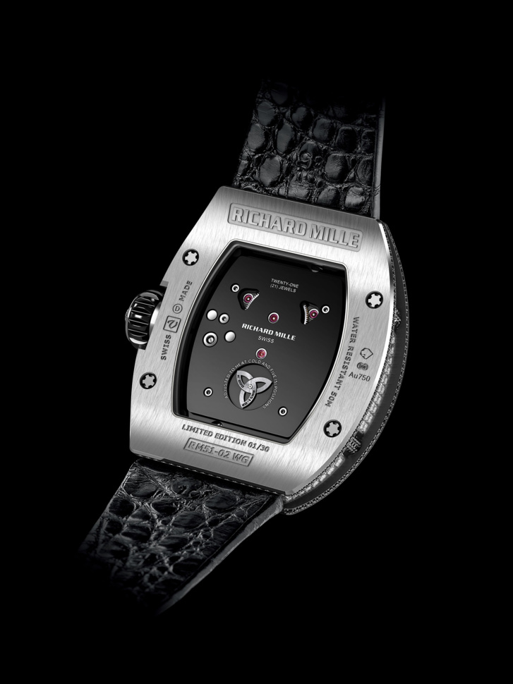 ​Richard Mille : Tourbillon RM 51-02 Diamant twister