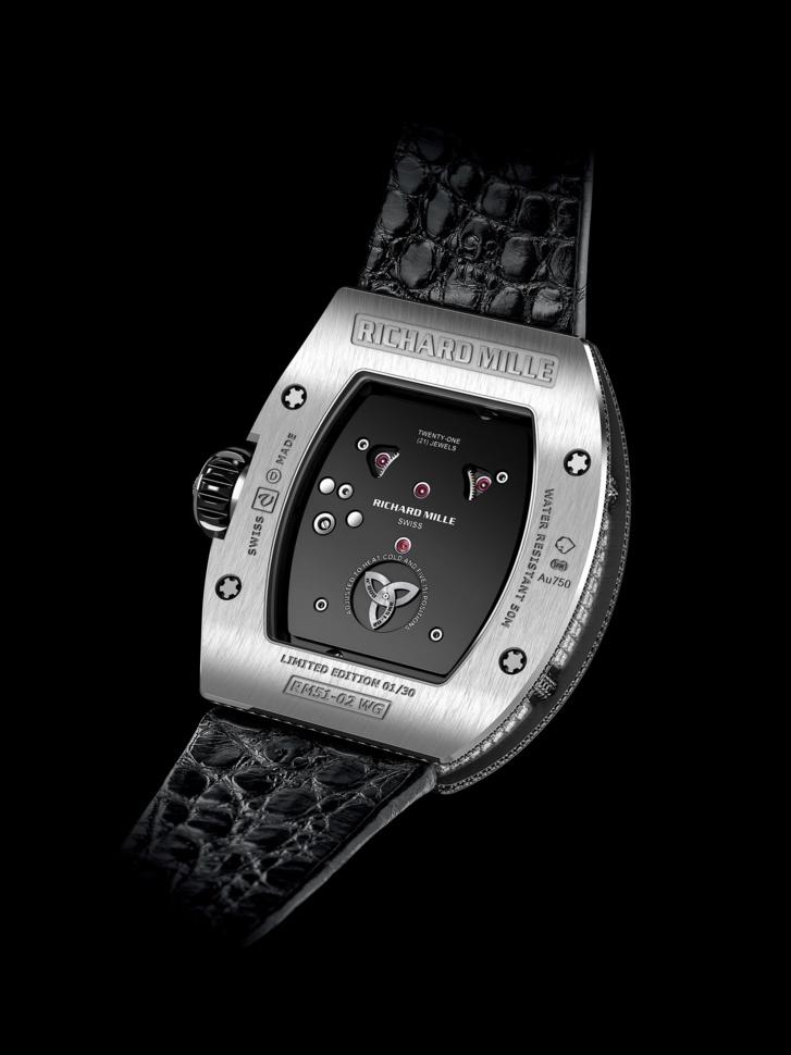 Richard Mille : Tourbillon RM 51-02 Diamant twister