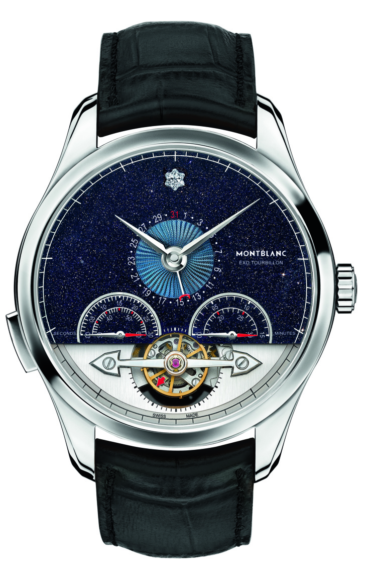​Montblanc présente la collection Heritage Chronométrie : ExoTourbillon Minute Chronograph