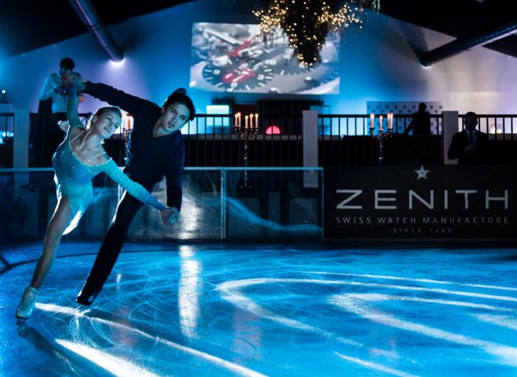 Zénith : Tatiana Volosozhar et Maxim Trankov au Zenith