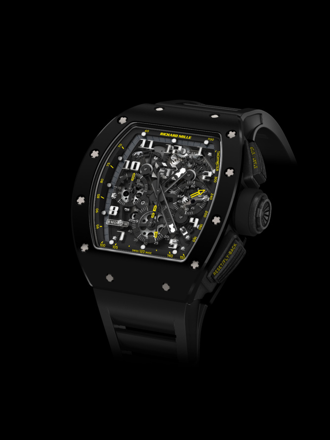 ​RM011 Yellow Flash par Richard Mille :