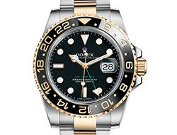 Prix du neuf Rolex 2015 GMT Master 116713LN lunette noire