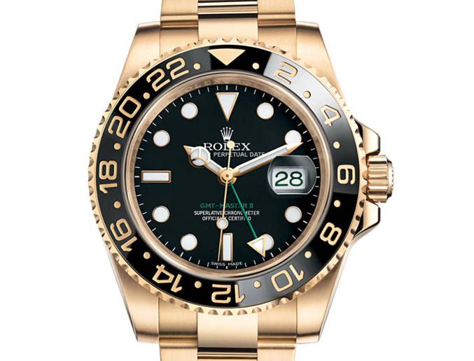 Prix du neuf Rolex 2015 GMT Master 116718LN lunette noire