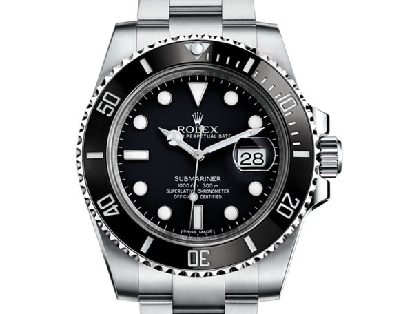 prix du neuf rolex 2015 submariner 116610 ln acier date. Black Bedroom Furniture Sets. Home Design Ideas