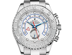 Prix du neuf Rolex 2015 Yacht-Master 2 or gris