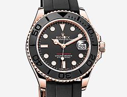 Prix du neuf Rolex 2015 Yacht-Master Everose Oysterflex® Medium 37mm