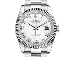 Prix du neuf Rolex 2015 Datejust (36mm) acier/or gris bracelet Oyster