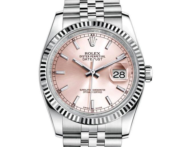 Prix du neuf Rolex 2015 Datejust (36mm) acier/or gris bracelet Jubilé