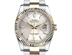 Prix du neuf Rolex 2015 Datejust (36mm) or/acier bracelet Oyster