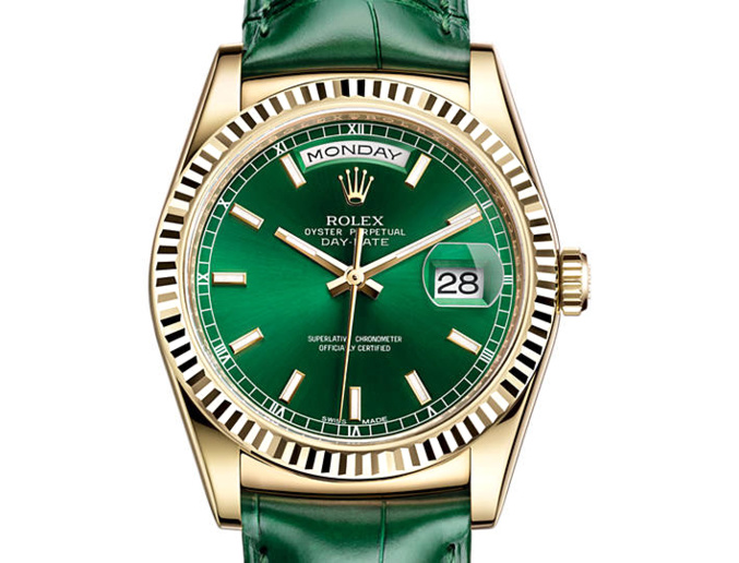Rolex Day-Date or Jaune (36mm)