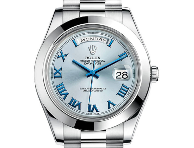 Rolex Day-Date II platine (41mm)
