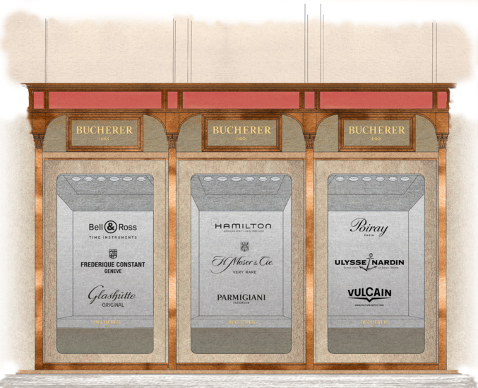 A l'occasion de son second anniversaire, Bucherer Paris accueille neuf nouvelles maisons horlogères