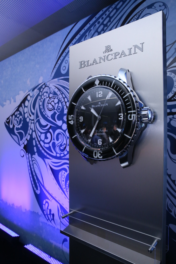 Blancpain au World Ocean Summit : un acteur majeur de l'innovation