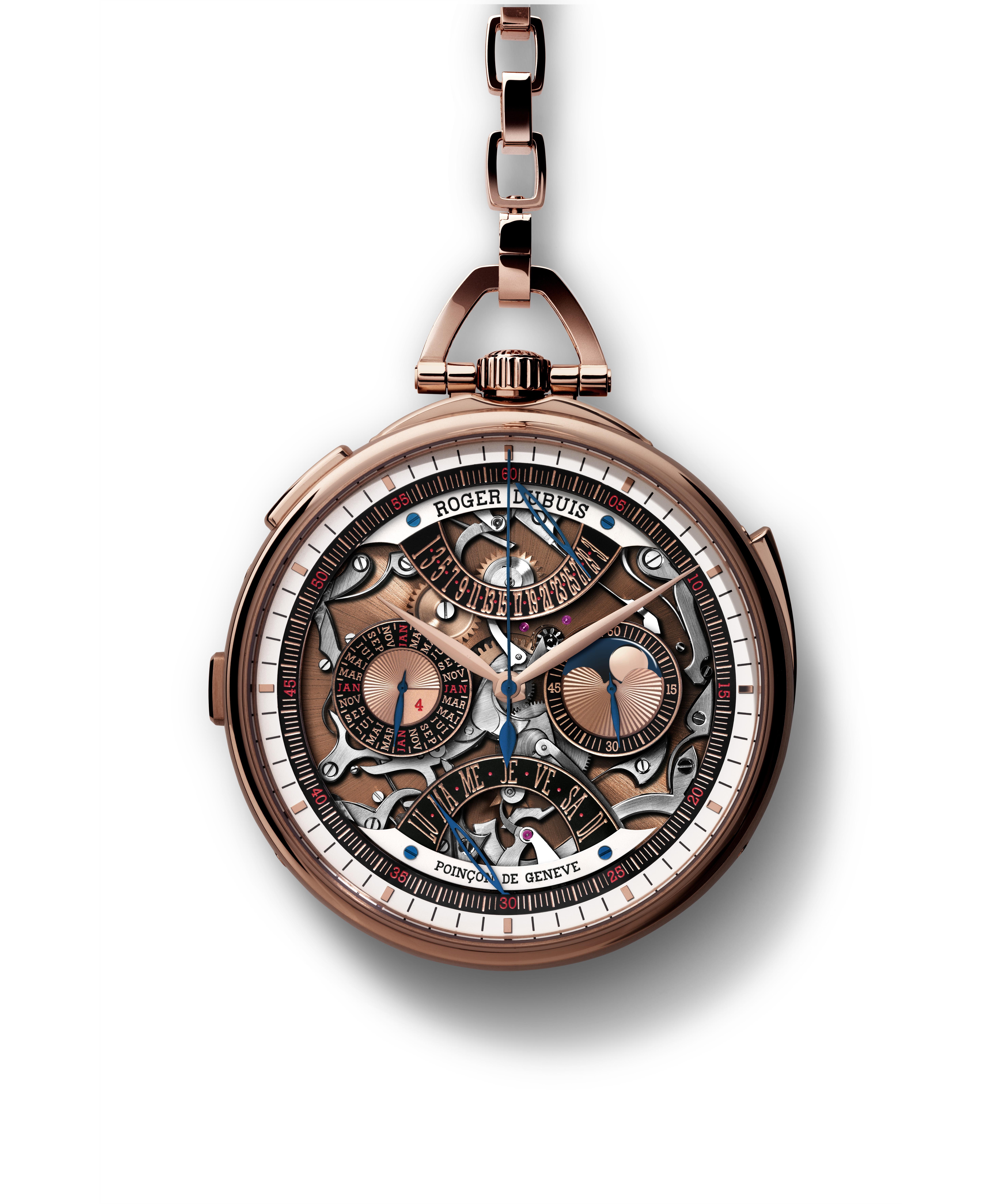 Nouveau Millésime de Roger Dubuis à l'occasion de l'ouverture de sa boutique à Genève qui restaure une merveille horlogère