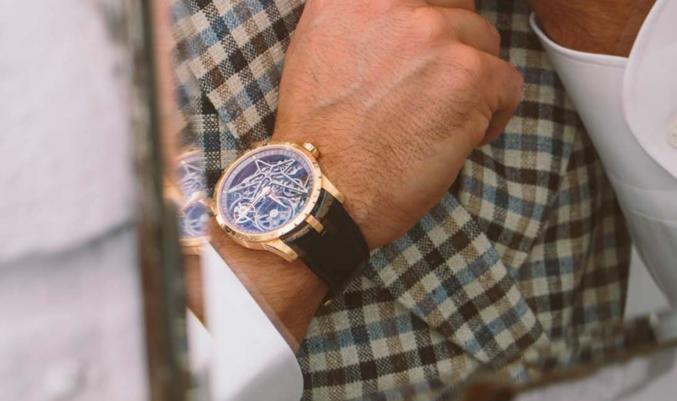 La collection lifestyle Excalibur de Roger Dubuis l'arme ultime du guerrier moderne