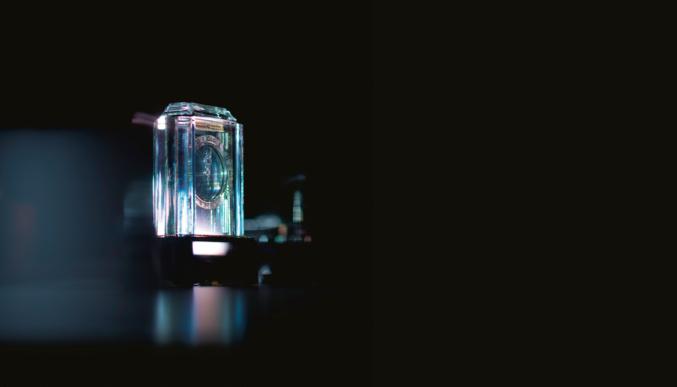Pendule mystérieuse « Modèle A » de Cartier