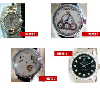 <-><br>Reconnaître une contrefaçon Rolex Panerai Bréguet Cartier-...