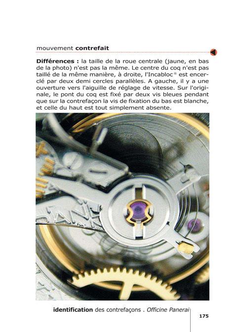 Le livre ''Vraies et fausses montres'' - Rolex Panerai Vacheron Breitling... Le livre de référence sur les contrefaçons de montres bracelets.
