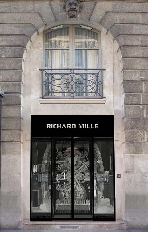 UNE BOUTIQUE RICHARD MILLE OUVRE A PARIS, 2 PLACE VENDOME