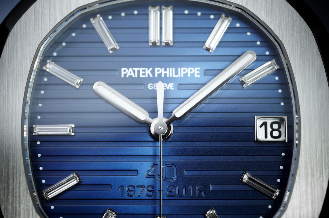 Patek Philippe célèbre son 40ème anniversaire de la Nautilus