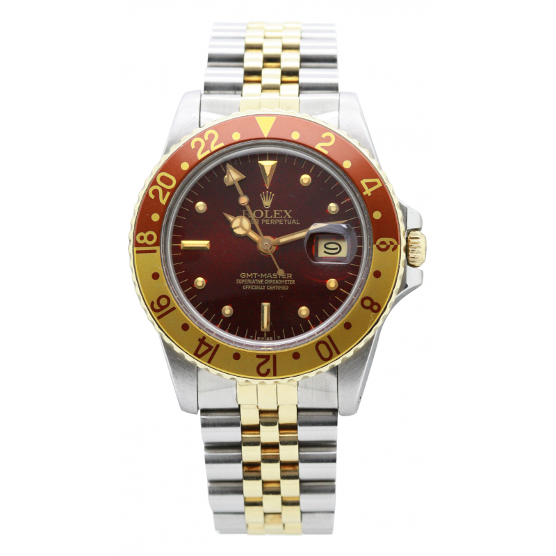 "Rolex GMT Master ""Root Beer"" 16753 occasion"