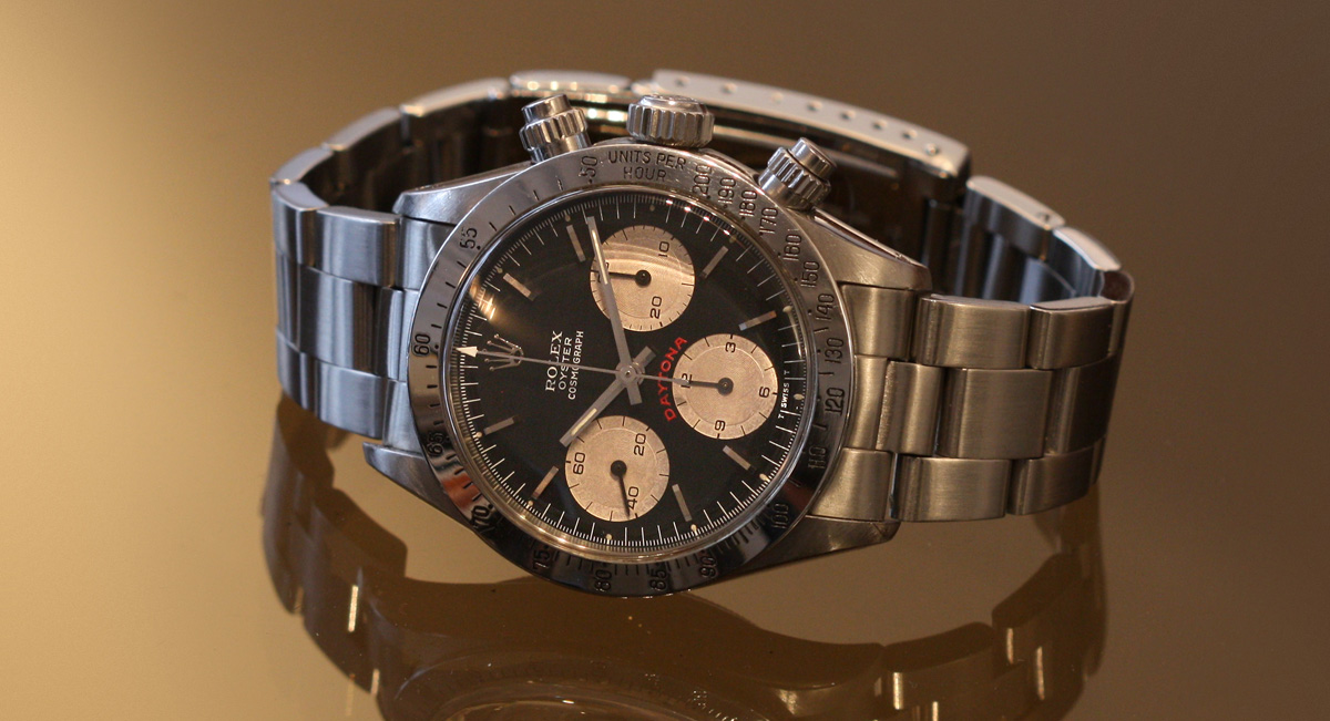 Réflexions sur la montre de collection (Rolex)