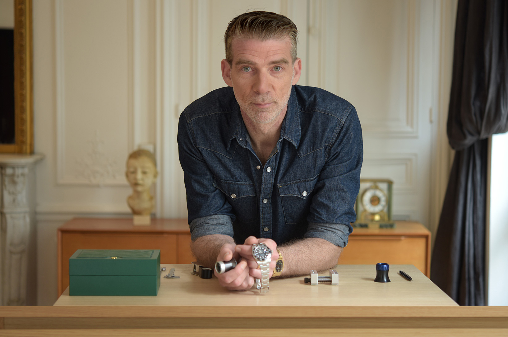 Fabrice Guéroux • Expert Horloger