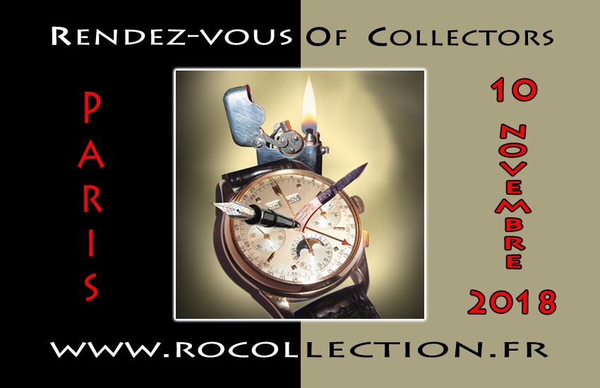 Amateurs de montres de collection, prochain salon ROC se tiendra le samedi 10 novembre 2018