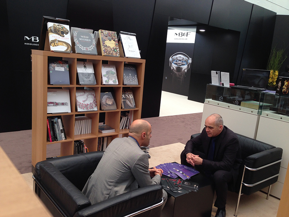 Baselworld 2014 - Watchprint Bookshop - Faites le plein d'ouvrages horlogers