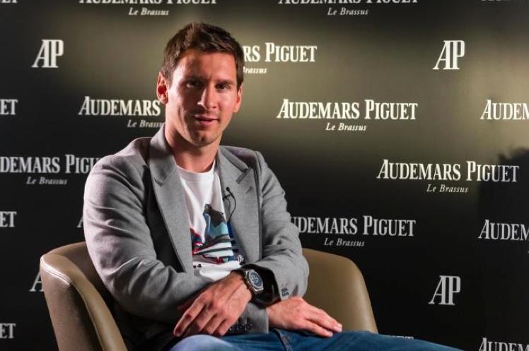 Audemars Piguet a accueilli son ambassadeur Leo Messi à la Manufacture du Brassus