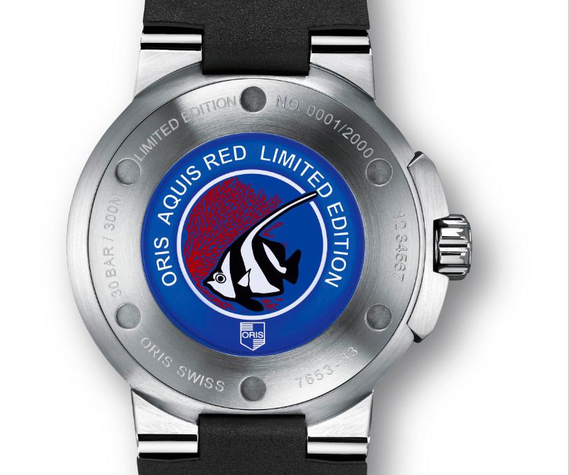 Oris Aquis Red Edition : Un garde-temps pour la mer Rouge
