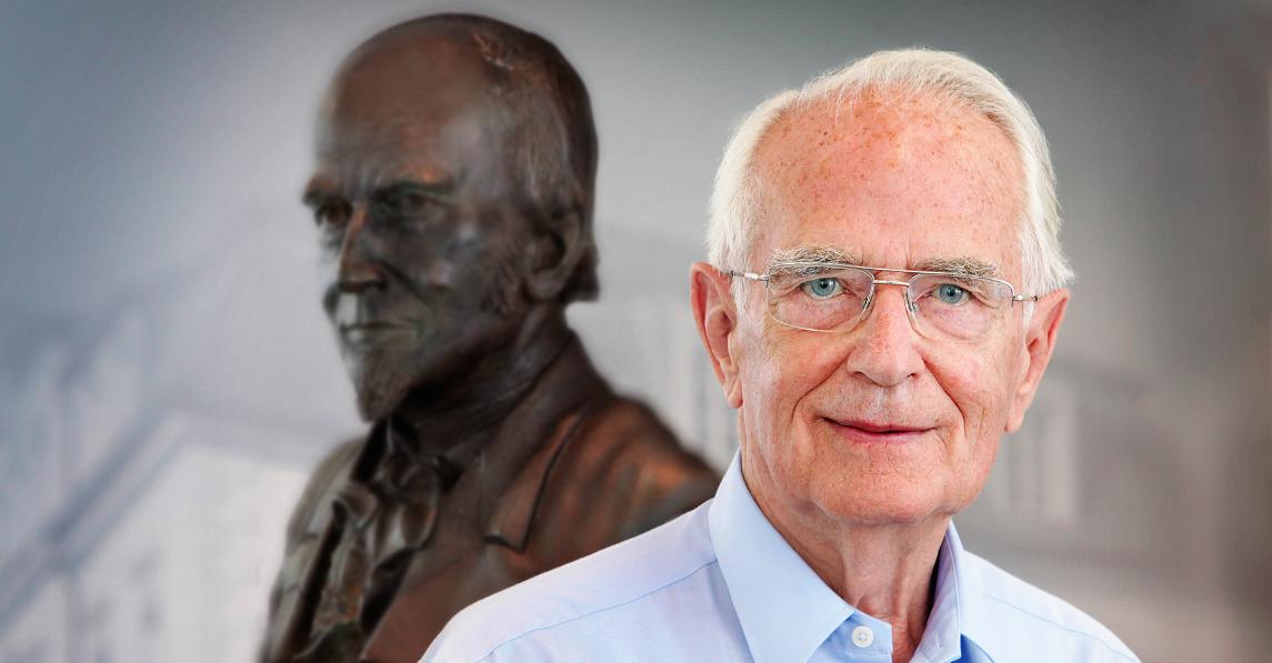 """Walter Lange fête ses 90 ans""""Ne jamais rester immobile!"""" telle est sa devise!"""