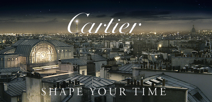 """Shape Your Time"" : chef d'œuvre signé par Bruno Aveillan et la manufacture Cartier"