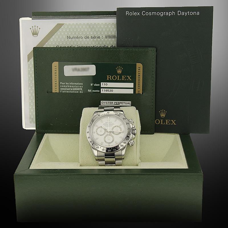 Rolex 116520 boîte papiers