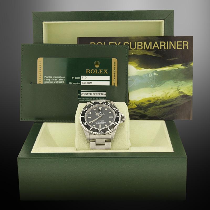 Rolex Submariner boîte et papiers - montre occasion