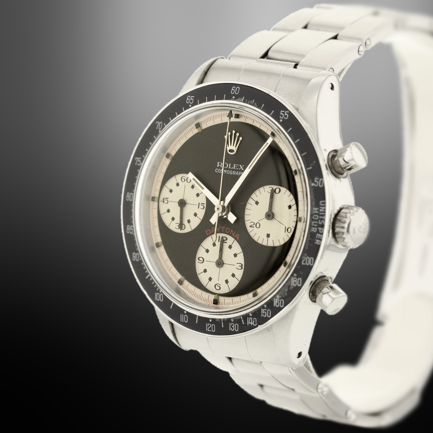 rolex daytona paul newman 6241 full set cadran noir. Black Bedroom Furniture Sets. Home Design Ideas