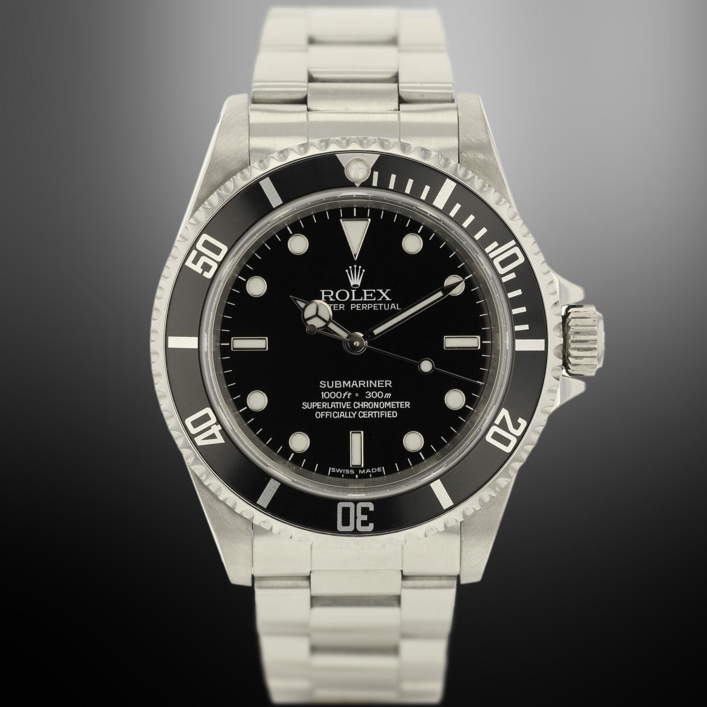Rolex Submariner acier référence 14060 occasion