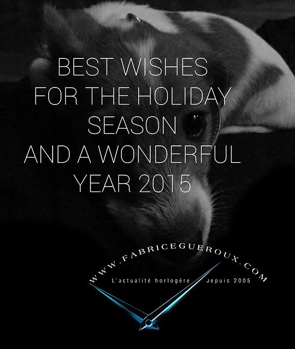 Bonne fêtes - Bonne Année - Best Wishes