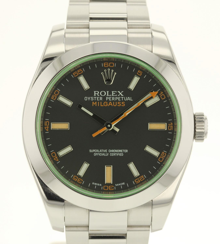 Rolex Milgauss 116400GV occasion complète