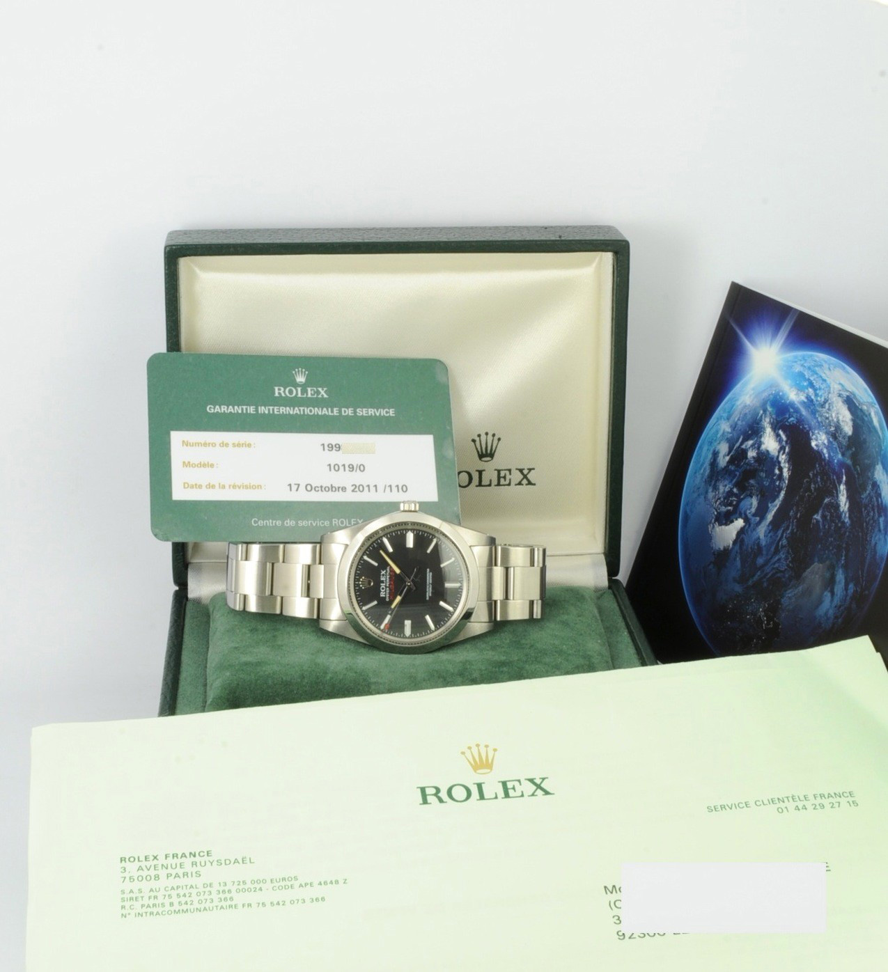 ​Rolex Milgauss 1019 full set