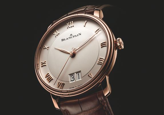 Blancpain - Une grande date pour la collection Villeret