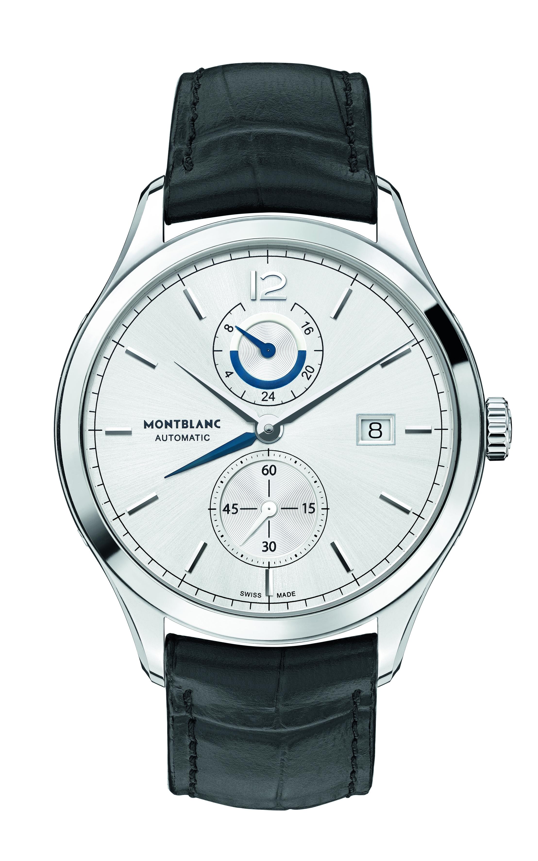 Montblanc présente la collection Heritage Chronométrie : DUAL TIME