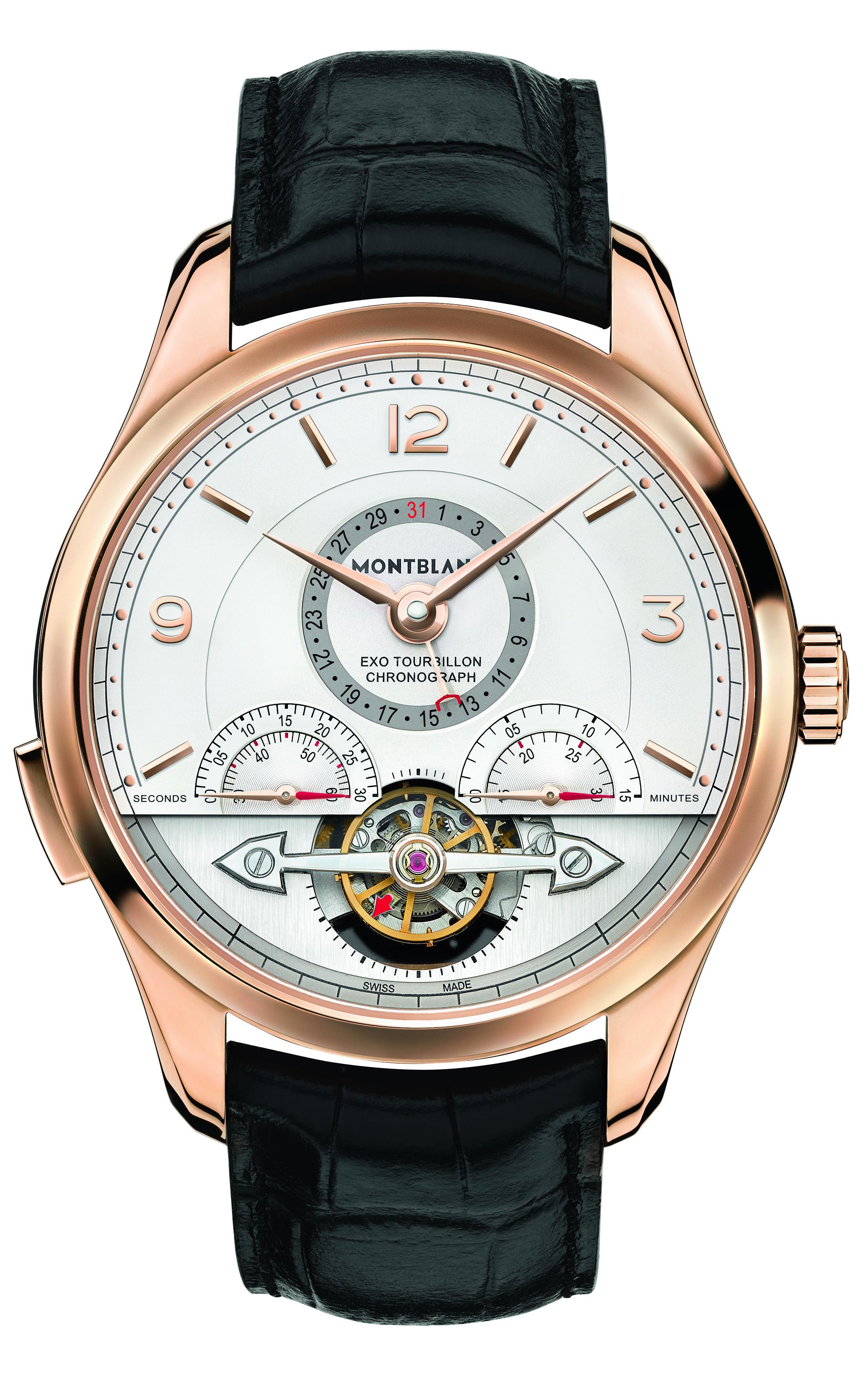 Montblanc présente la collection Heritage Chronométrie : ExoTourbillon Minute Chronograph