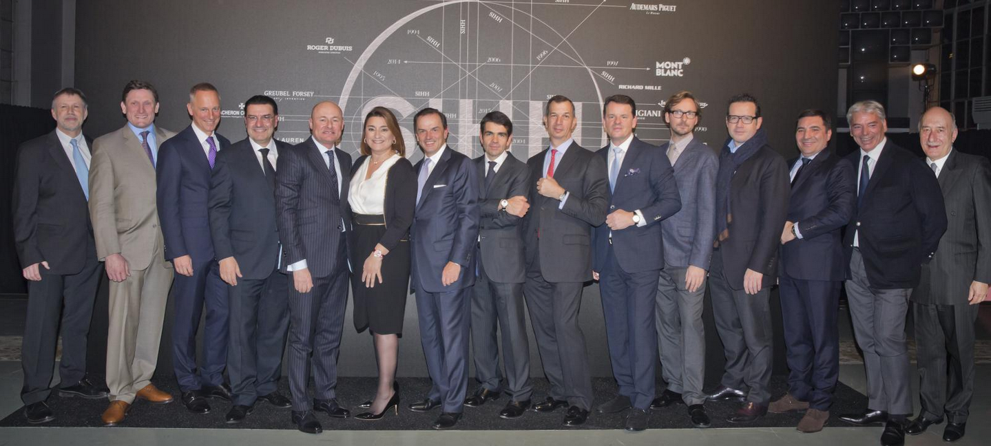 ​SALON INTERNATIONAL DE LA HAUTE HORLOGERIE 2015