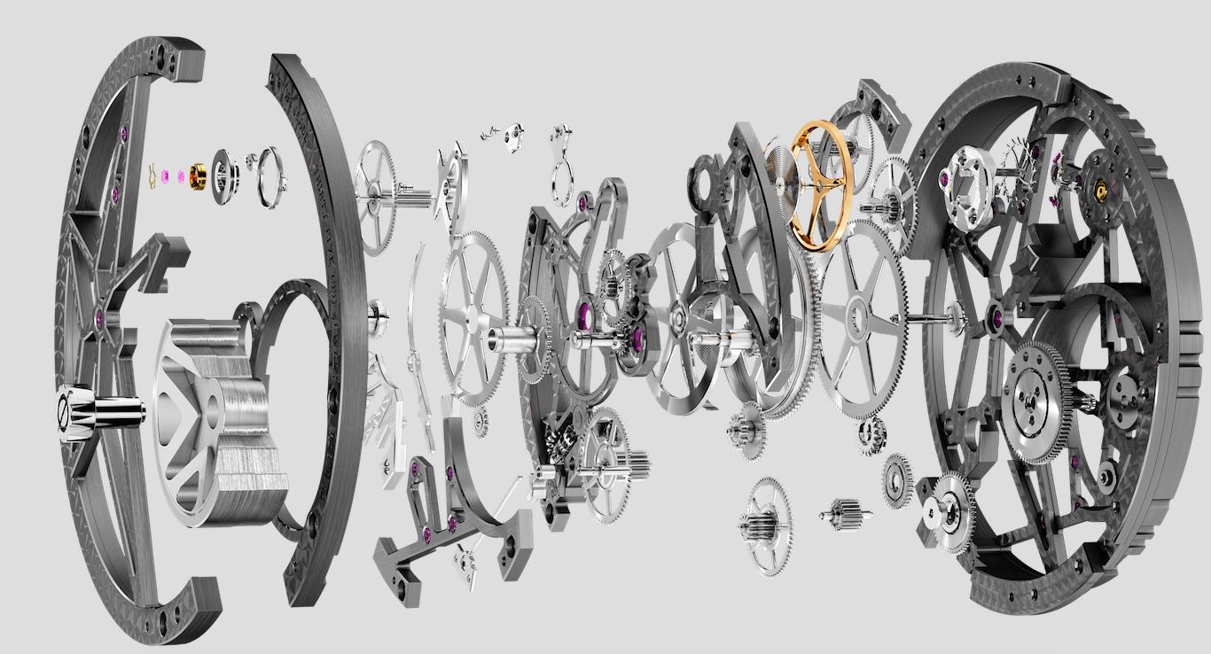Découverte des nouveautés Roger Dubuis : 2015 - l'année de l'Astral Skeleton :